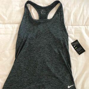 NWT Nike drifit Grey workout tag